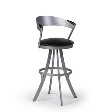 "Piaf 30"" Swivel Bar Stool with Cushion"