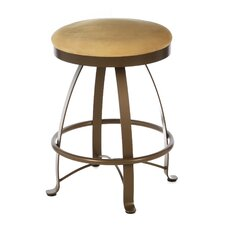 "<strong>Createch</strong> Siba 24"" Swivel Bar Stool with Cushion"