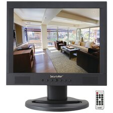 """Professional 15"""" LCD CCTV Color Monitor with Speaker"""