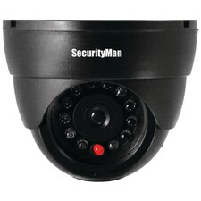 <strong>Security Man</strong> Dummy Indoor DomeCamera with Led