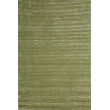 Jubilee Green Contemporary Rug
