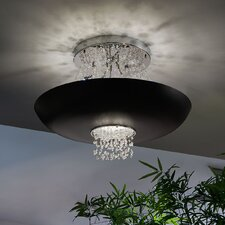 Empire 9 Light Semi-Flush Mount
