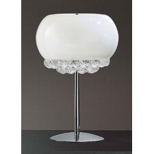 "Mir 17.7"" H Table Lamp with Bowl Shade"