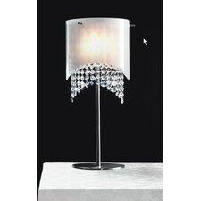 "Nerosole 23.63"" H Table Lamp with Drum Shade"