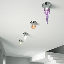 <strong>Masiero</strong> Kioccia 1 Light Small Flush Mount