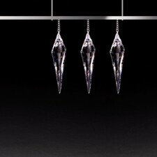 <strong>Masiero</strong> Click 4 Light 3 Crystal Pendant