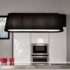 Tessuti Oval 2 Light Small Pendant