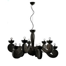 <strong>Masiero</strong> Botero 10 Light Chandelier