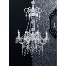 Arabesque 8 Light Crystal Chandelier
