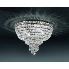 Beethoven 6 Light Crystal Flush Mount