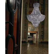 Beethoven Empire 16 Light Crystal Chandelier