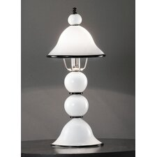 "Canaletto 20"" H Table Lamp with Bell Shade"