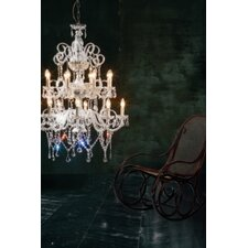 Erika 18 Light Crystal Chandelier