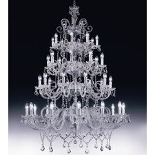 Erika 40 Light Crystal Chandelier