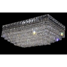 Isis 8 Light Crystal Flush Mount