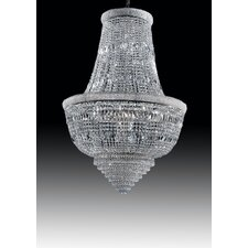 Osaka Empire 9 Light Crystal Chandelier