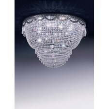 Pegaso 12 Light Crystal Flush Mount