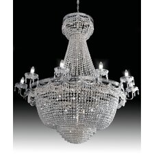 Pegaso Empire 28 Light Crystal Chandelier