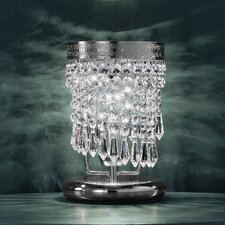 Twister 1 Light Crystal Table Lamp