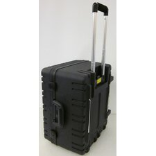 Wheeled Tool Case with Recessed Latches