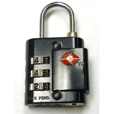 Three Number Transportation Security Administration Approved Lock