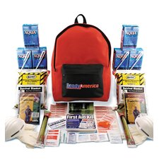 <strong>Ready America</strong> Grab N' Go Emergency Backpack Kit, 2 Person