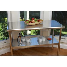 "EcoStorage™ 48"" Stainless Steel Table"