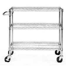 "EcoStorage™ 35.75"" 3 Tier NSF Cart"