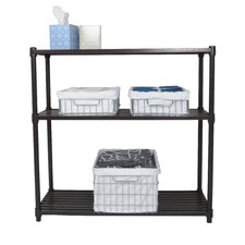 "Slat 35"" H 3 Shelf Shelving Unit Starter"