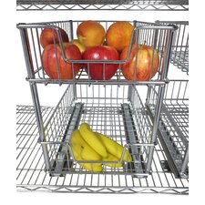 EcoStorage™ 2 Tier Wire Drawer with Slides