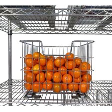 EcoStorage™ Wire Basket with Slides