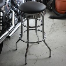 "29"" Swivel Bar Stool with Cushion"