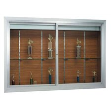 Deluxe Recessed Display Case