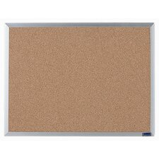 <strong>AARCO</strong> Economy Series Natural Pebble Grain Cork Bulletin Board