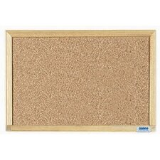 Economy Series Natural Pebble Grain Bulletin Board