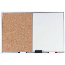 Combination Bulletin Board and Whiteboard