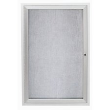 Outdoor Illuminated Enclosed Bulleting Board