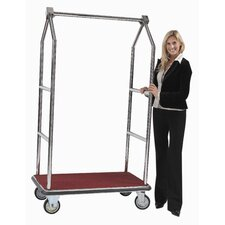 "Tall 72"" Luggage Cart"