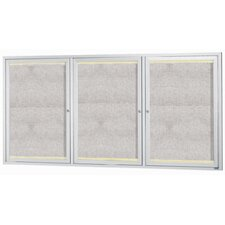 <strong>AARCO</strong> Aluminum Framed Enclosed Bulletin Board