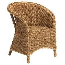 Water Hyacinth and Rattan Chair