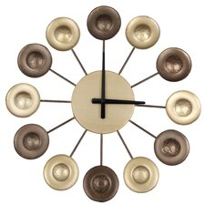 Metal Circle Wall Clock