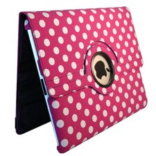 Ipad 2 and Ipad 3 Polka Dot Rotating Case