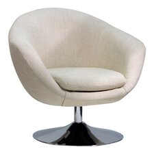 Overman Disc Base Comet Barrel Chair