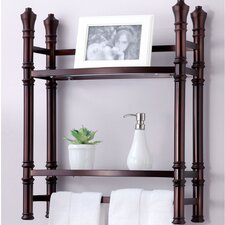 "Monte Carlo 21.5"" x 27"" Wall Mount Shelf"