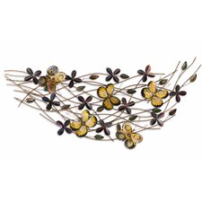 <strong>Fox Hill Trading</strong> Iron Werks Mariposa Wall Décor