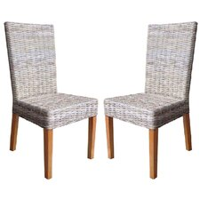 <strong>Fox Hill Trading</strong> Rattan Living Rio Dining Chair (Set of 2) (Set of 2)
