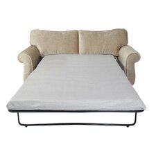 "4.75"" Gel Infused Memory Foam Sofa Mattress and Contour Pillow Set"