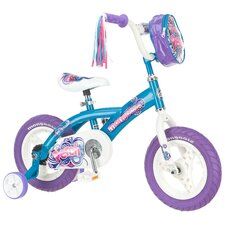Girl's Perch Road Bike with Training Wheels