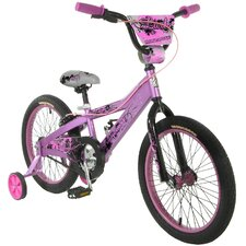 Girls Lark BMX Bike With Training Wheels