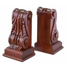 Monticello Acanthus Book Ends (Set of 2)